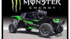 Boot screen Monster Energy