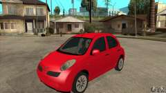 Nissan Micra for GTA San Andreas