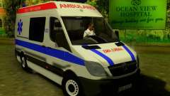 Mercedes-Benz Sprinter Baku Ambulans for GTA San Andreas