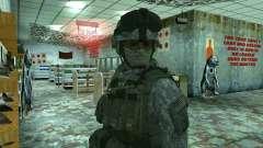 Skin infantryman CoD MW 2