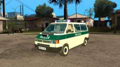 Volkswagen Transporter T4 Bosnian police for GTA San Andreas