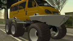 Gazelle 2705 swamp buggy for GTA San Andreas