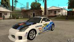 Nissan 350z Stock - Tunable for GTA San Andreas