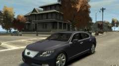 Lexus LS 600h L v1.1 for GTA 4
