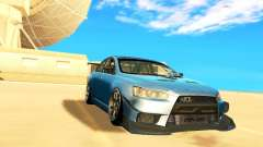Mitsubishi Lancer Evolution X Time Attack for GTA San Andreas
