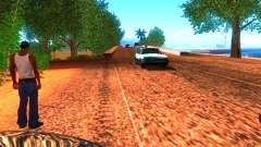 Normal drivers on the track for GTA San Andreas