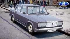 Vaz-2107 for GTA 4