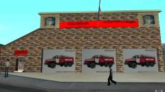Russian fire station in San Fierro for GTA San Andreas