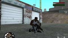 AK-74 (no stock) for GTA San Andreas