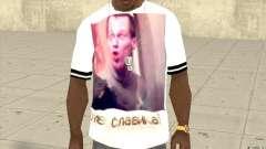T-shirt: Exuberant Slavik for GTA San Andreas