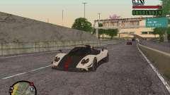 Pagani Zonda Cinque Roadster V2 for GTA San Andreas
