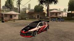 Mitsubishi Lancer Evolution 8 GReddy for GTA San Andreas