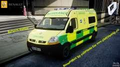 Renault Master 2007 Ambulance Scottish
