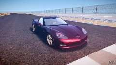 Chevrolet Corvette C6 Z06 for GTA 4