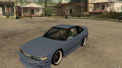 Nissan Silvia80 - EMzone Edition for GTA San Andreas