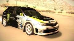 Subaru Impreza Gymkhana for GTA San Andreas