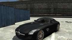 Mercedes-Benz SLS AMG 2011 v3.0 for GTA 4