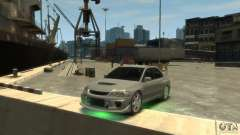 Mitsubishi Lancer EVOLUTION VIII for GTA 4