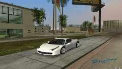 Ferrari 458 Italia for GTA Vice City