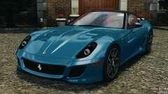 Ferrari 599 GTO 2011 for GTA 4