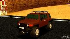 Toyota FJ Cruiser for GTA San Andreas