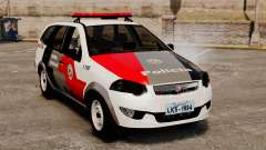 Fiat Palio Weekend Trekking 2013 PMESP ELS for GTA 4