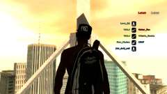 Knapsack-parachute for GTA: SA