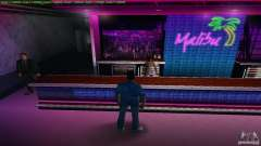 New textures Club Malibu for GTA Vice City