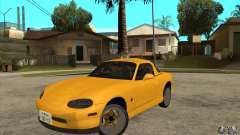 Mazda MX-5 JDM Coupe for GTA San Andreas