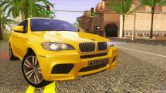 BMW X6M E71 v2 for GTA San Andreas