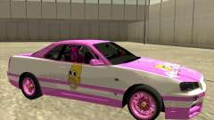 Nissan Skyline R34 Mr.SpaT for GTA San Andreas
