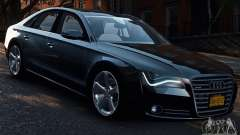 Audi A8 2010 V8 FSI for GTA 4