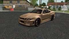 Nissan Skyline Z-Tune for GTA San Andreas