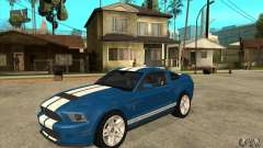 Ford Mustang Shelby GT500 2011 for GTA San Andreas