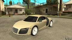 Audi R8 V10 5.2 FSI Quattro for GTA San Andreas