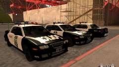 Police Civic Cruiser NFS MW for GTA San Andreas