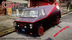 GMC Vandura A-Team Van 1983