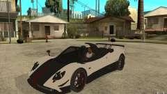 Pagani Zonda Cinque Roadster for GTA San Andreas