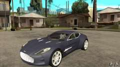 Aston Martin One-77 for GTA San Andreas