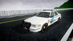 Ford Crown Victoria v2 NYPD [ELS] for GTA 4