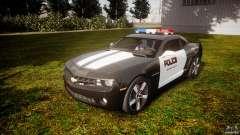 Chevrolet Camaro Police (Beta) for GTA 4