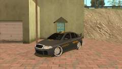 Skoda Octavia Taxi for GTA San Andreas