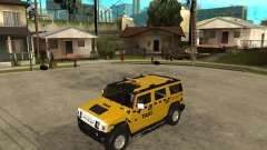 AMG H2 HUMMER TAXI for GTA San Andreas