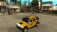 AMG H2 HUMMER TAXI for GTA San Andreas