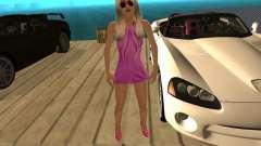 Mia Pinky for GTA San Andreas
