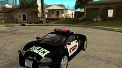 Bugatti Veyron police San Fiero for GTA San Andreas