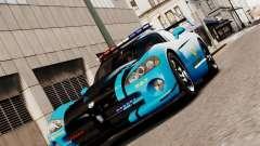 Dodge Viper SRT-10 ACR 2009 Police ELS for GTA 4