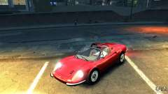 Ferrari Dino 246 GTS for GTA 4