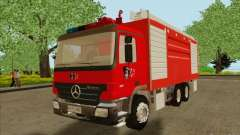Mercedes Benz Actros Bomberos C1 for GTA San Andreas