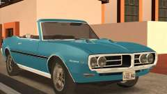 Pontiac Firebird Conversible 1966 for GTA San Andreas